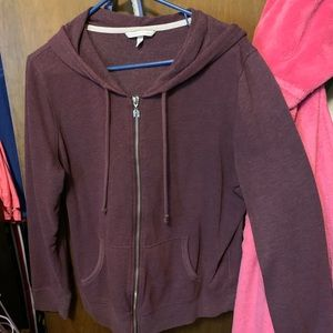 Zip up sweater
